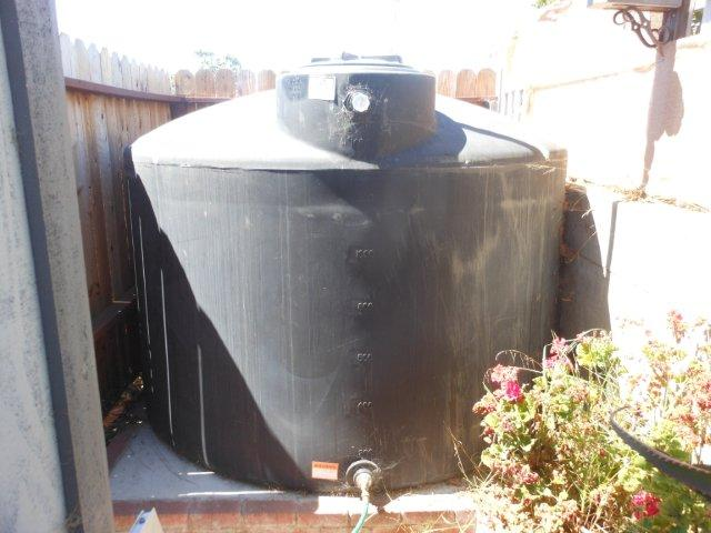 water catchment tank